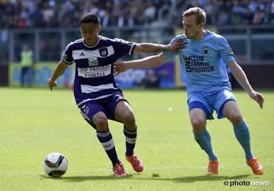 Snelders livre ses impressions sur Anderlecht et Bruges