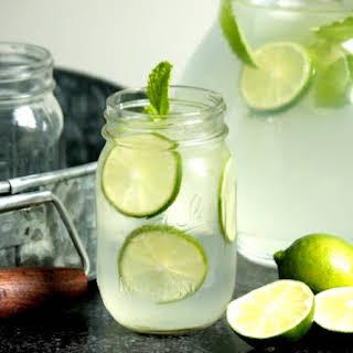 Homemade Limeade.