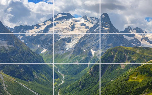 Puzzle - Great mountains screenshot 9