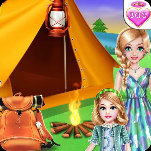 Royal Family Summer Camping - Kids Games