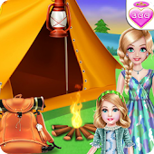 Royal Family Summer Camping - Kids Games