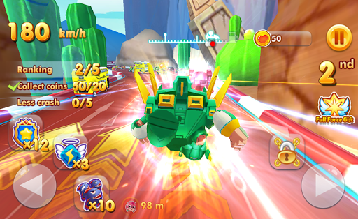 Super Chibi Race: Robot Kart Drift Car Racing Game 1.1.23 {cheat|hack|gameplay|apk mod|resources generator} 5
