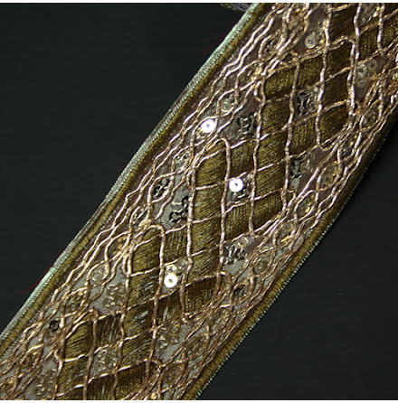 Diamant Band Grön