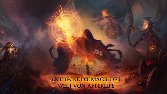 Afterlife: RPG Clicker CCG Screenshot