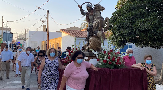 Santiago Apostol vuelve a recorrer las calles del Pozo de la Higuera