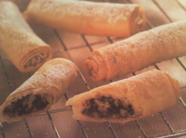 Walnut & Chocolate Fingers Recipe