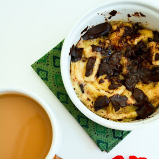 Microwave Bread Pudding in a Mug.