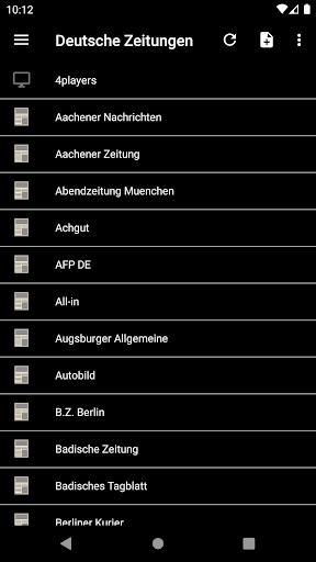 Deutsche Zeitungen 2.2.3.5.6 screenshots 2