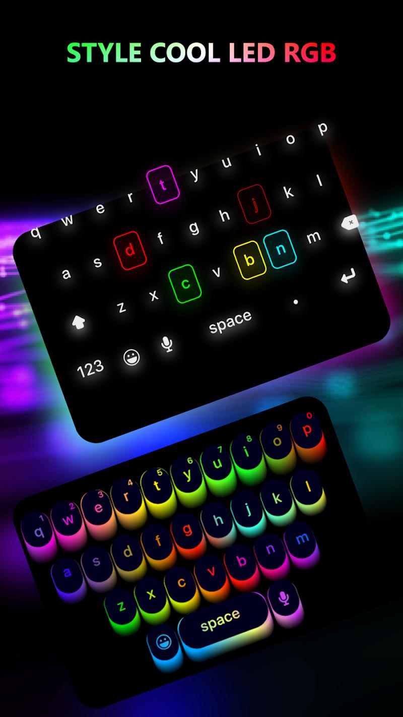 Bàn Phím LED Phát Sáng - Bàn Phím Cơ RGB LED 5.2.7.1 [PRO]