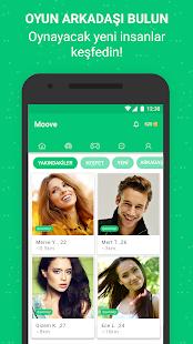 Oyna, Mesajlaş, Tanış - Moove Screenshot