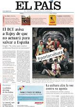 Photo: El BCE avisa a Rajoy de que no actuará para salvar a España y la cultura alza la voz contra su agonía, en nuestra portada del domingo 21 de julio http://srv00.epimg.net/pdf/elpais/1aPagina/2012/07/ep-20120722.pdf