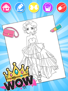 Fashion Coloring Book - Apps on Google Play