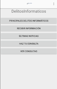 Delitos Informáticos screenshot 0