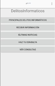 Delitos Informáticos screenshot 0