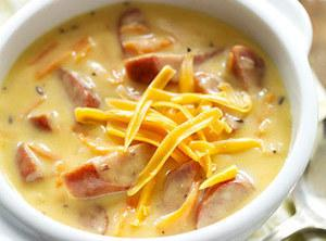 Wisconsin Brats And Beer Cheddar Chowder Recipe