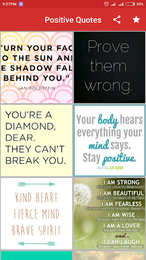 Positive Quotes 1.2.1 screenshots 4