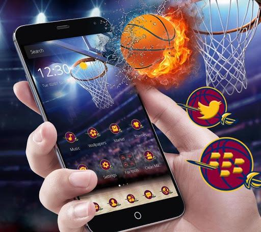 Cleveland Basketball Launcher Theme 1.1.2 screenshots 2