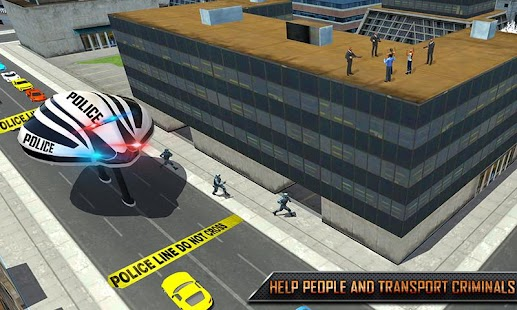 Futuristic Gyroscopic Bus City Police Rescue Sim - náhled