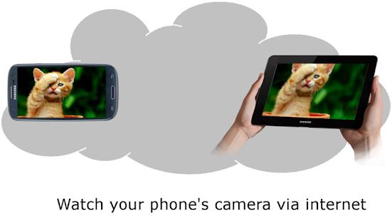 RemoteLens Network Camera - náhled