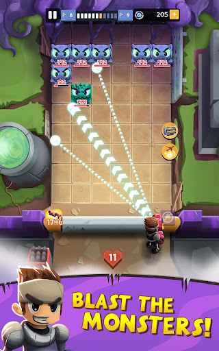 Gun Blast: Bubble Shooter and Bouncy Balls Games Screenshot