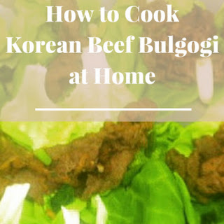 BULGOGI (Grilled Seasoned Sliced Beef)