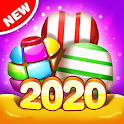 Candy House Fever - 2020 free match game icon