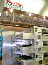 Photo: My triple stack MiddleBee Marsh Ovens cook our pies faster then we can make em!!!!!. Love it.