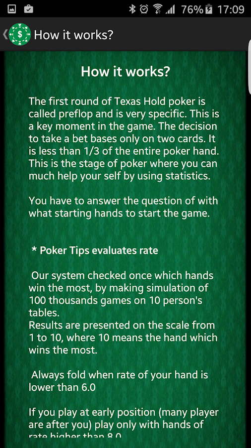 5 card poker tips