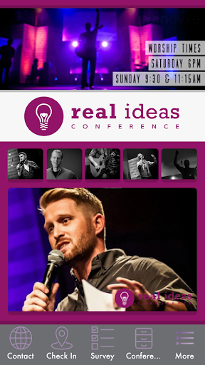 Real Ideas Conference App