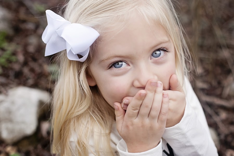 Austin by Megan Malmo - Babies & Children Children Candids ( laughing, girl, blue, eyes )