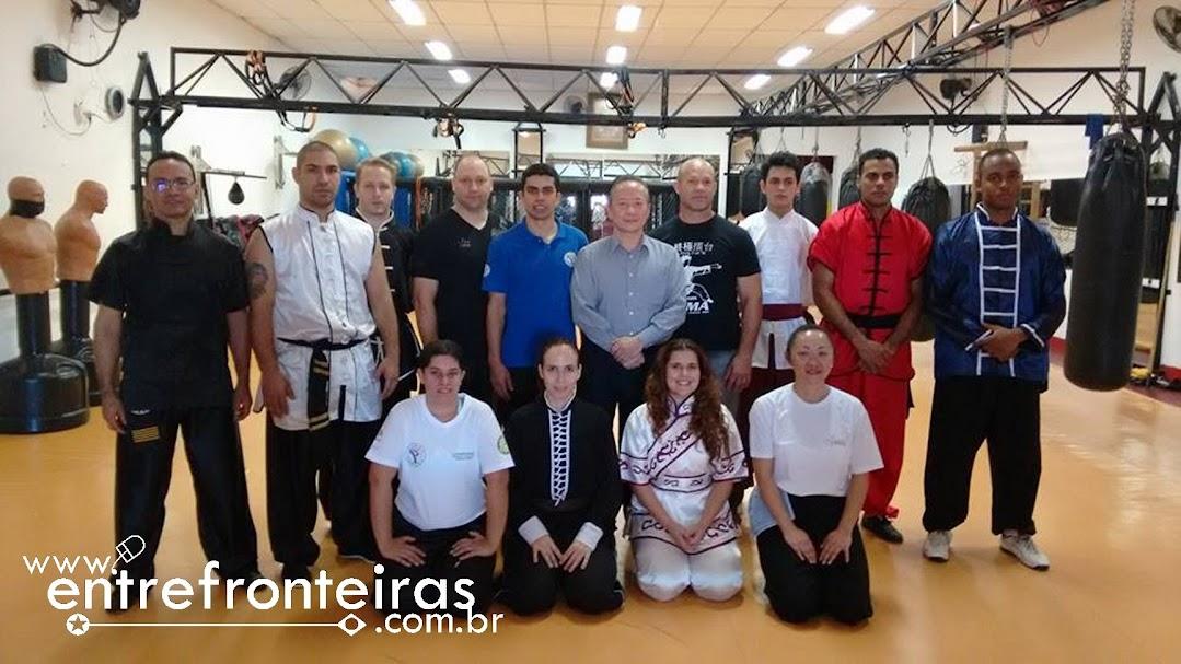 TREINO DA SELEÇÃO BRASILEIRA DE KUNG FU TRADICIONAL