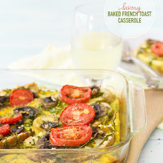 Savory Baked French Toast Casserole