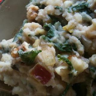 Jazzed Up Mashed Potatoes With Kale