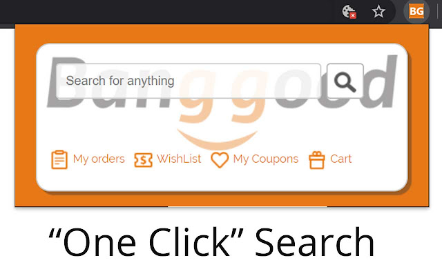 Start your search with Banggood™ +Right Click