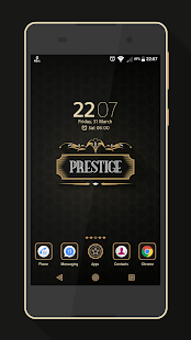 Prestige Theme Screenshot