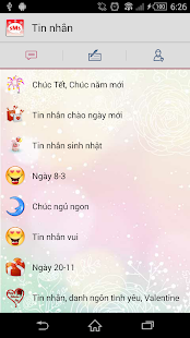 Tin nhắn, SMS năm mới 2018 - náhled