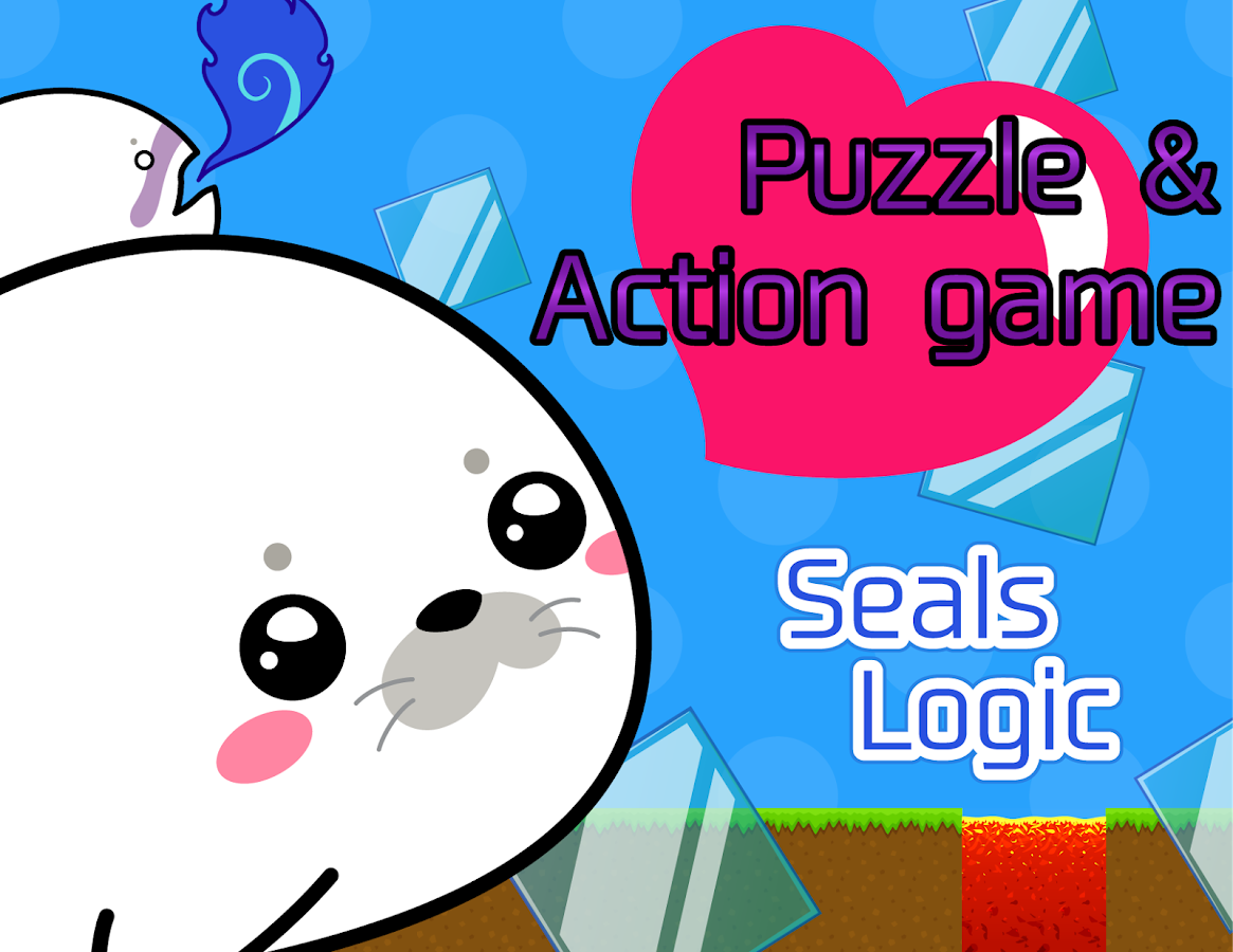 Seals Logic:Cute PuzzleAction- screenshot