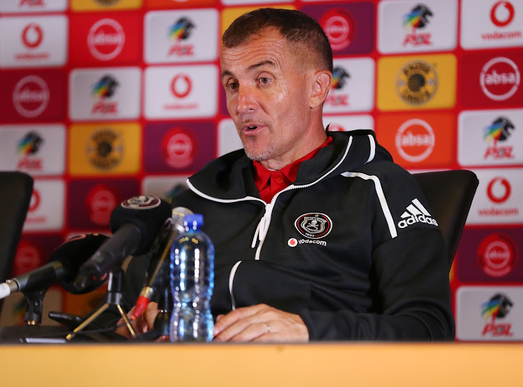 Orlando Pirates' Serbian head coach Milutin Sredojevic in confident his team can progress to the quarterfinals of the Caf Champions League despite a tough away trip to Conakry in their last group match needing nothing but victory against Guinea giants Horoya.