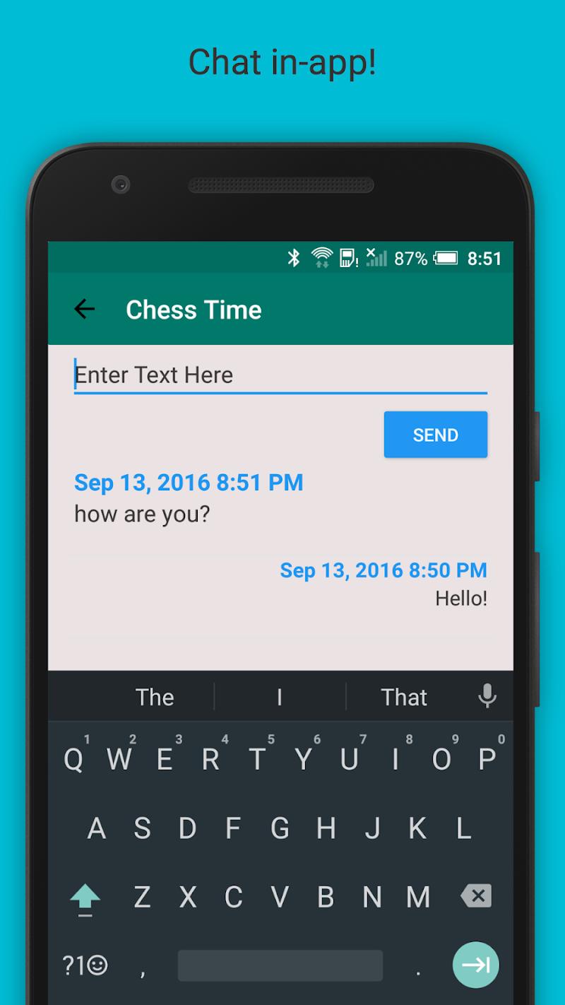 Chess Time® Pro - Multiplayer Screenshot 2