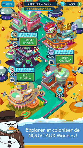Code Triche Taps to Riches APK MOD screenshots 4