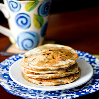 Whole Wheat Chocolate Chip Buttermilk Pancakes