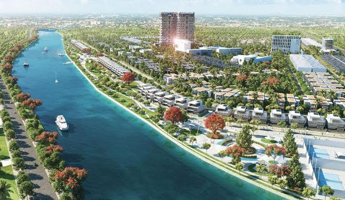 Khu đô thị Long Châu – lực hấp dẫn từ một dự án ven sông - Báo Công An Nghệ  An điện tử