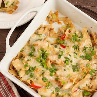 Chicken Chilaquiles Casserole.