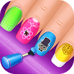 Nail Salon : princess Icon