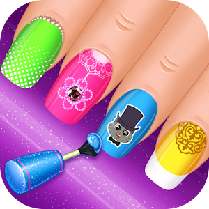 Nail Salon : princess