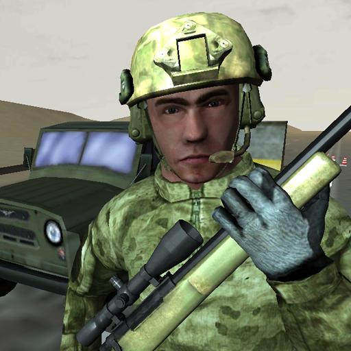 军用狙击小队战 模擬 App LOGO-APP試玩