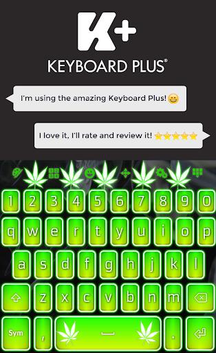 Weed Keyboard HD