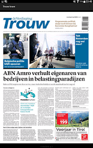 Trouw digitale krant screenshot 6