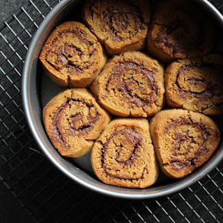 Vegan Chocolate Nut Butter Scrolls