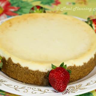 Creamy NY-Style Cheesecake